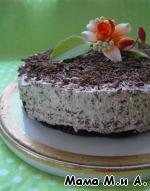 Творожный торт с шоколадной крошкой ингредиенты