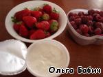 """Десерт """"Арбузные дольки"""" ингредиенты"""