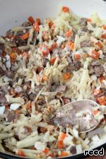 Салат печеночный Печень куриная