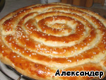 Кольцевой пирог Тесто слоеное дрожжевое