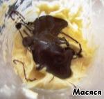 Нежный шоколадный торт без муки Масло сливочное