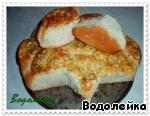 Булочки-ватрушки Сыр твердый