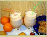 Коктейль из мороженого и сока с мякотью ингредиенты