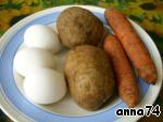 Салат «Сардинка с гренками» ингредиенты