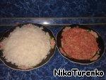 Перец, фаршированный рисом Басмати, грибами и помидорками черри ингредиенты