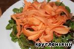 фото Салат с жареным сыром