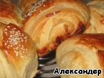 Слоеные булочки Мука