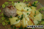 Котлеты с картошечкой в мультиварке ингредиенты