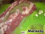 Свинина, запеченная в травах и приправах ингредиенты