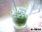 Клубнично-мятный джулеп - кулинарный рецепт