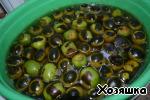 Варенье из зеленых грецких орехов с кожурой ингредиенты