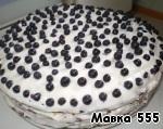 Торт с черникой ингредиенты