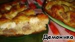 Пирог с фрикадельками Майонез