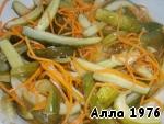 Огурцы по-корейски Морковь