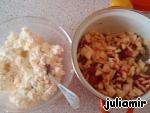 фото Творожный штрудель с малиной и яблоками