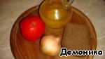 Салат из ржаного хлеба с помидорами ингредиенты