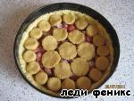 """Пирог  """"Клубничный секрет"""" Мука"""