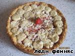 """Пирог  """"Клубничный секрет"""" Яйцо"""