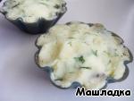 Кексы картофельные с грибами ингредиенты