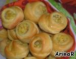 Пирожки-цветочки Сахар