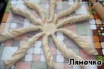 Английский хлеб с сыром и ветчиной Масло сливочное