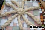 Английский хлеб с сыром и ветчиной Яйцо куриное