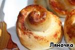 Английский хлеб с сыром и ветчиной Сыр твердый