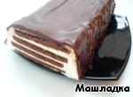 """Тортик без выпечки """"Полосатый"""" ингредиенты"""
