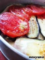 фото Киш с помидорами и баклажанами