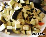 Салат с баклажанами и белой фасолью ингредиенты