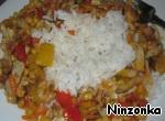 Рагу из овощей с кальмарами и креветками ингредиенты