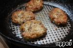 Котлеты из овсянки и грибов со сметанным соусом Грибы