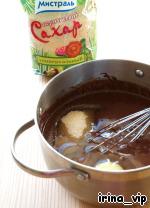Заварные шоколадные маффины Сахар коричневый