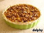 Тыквенный пирог с орехами Вода