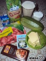 """Пирог-рулет """"Осенний переполох"""" ингредиенты"""