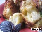 Цветная капуста в сырно-горчичном кляре ингредиенты