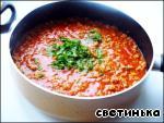Каннеллони с фаршем, томатами и                         моцареллой «Италия по-русски» Сыр твердый