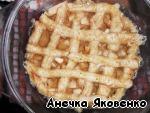 Пирог с яблоками в микроволновке