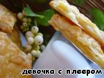 Слойки картофельные с сыром