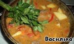 Суп-шурпа по-кавказски Помидор
