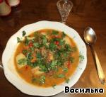 Суп-шурпа по-кавказски Морковь