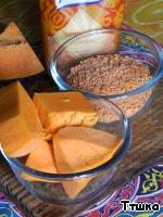 Суп-пюре из тыквы, чечевицы с картофельными клецками ингредиенты