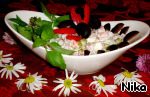 Простой салат с лососем ингредиенты
