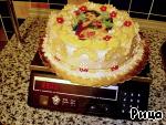 Украшение тортов вафельными картинами ингредиенты