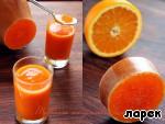 Тыквенно-апельсиновый кисель ингредиенты