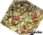 Легкий салат с куриной грудкой и овощами ингредиенты