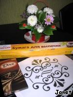 Съедобные украшения из шоколада ингредиенты