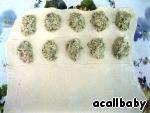 Домашние Форнетти - слоеные мини-пирожки с курицей и грибами
