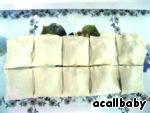 Домашние Форнетти - слоеные мини-пирожки с курицей и грибами Тесто слоеное