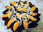 фото Свекольно-мандариновый салат
